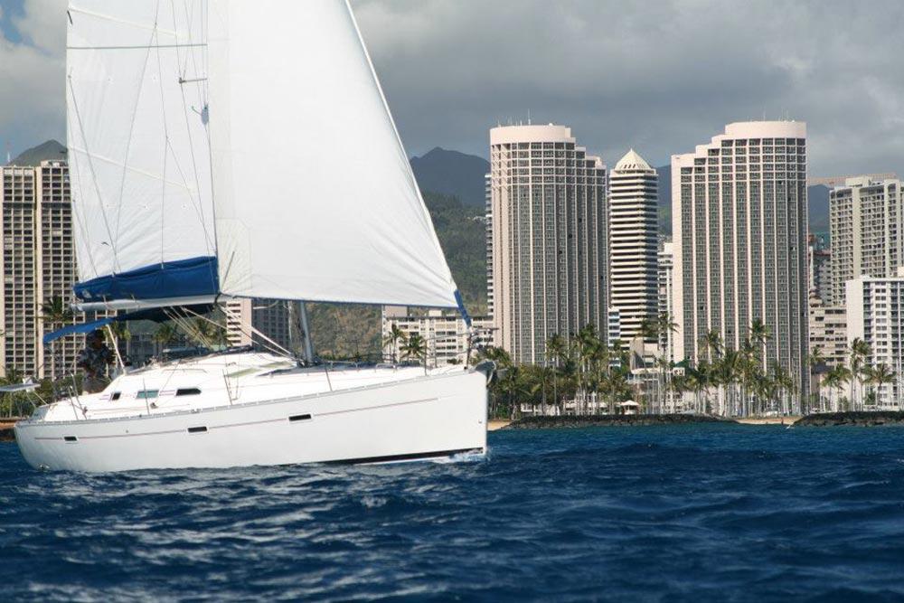 Sailing trip on Oahu