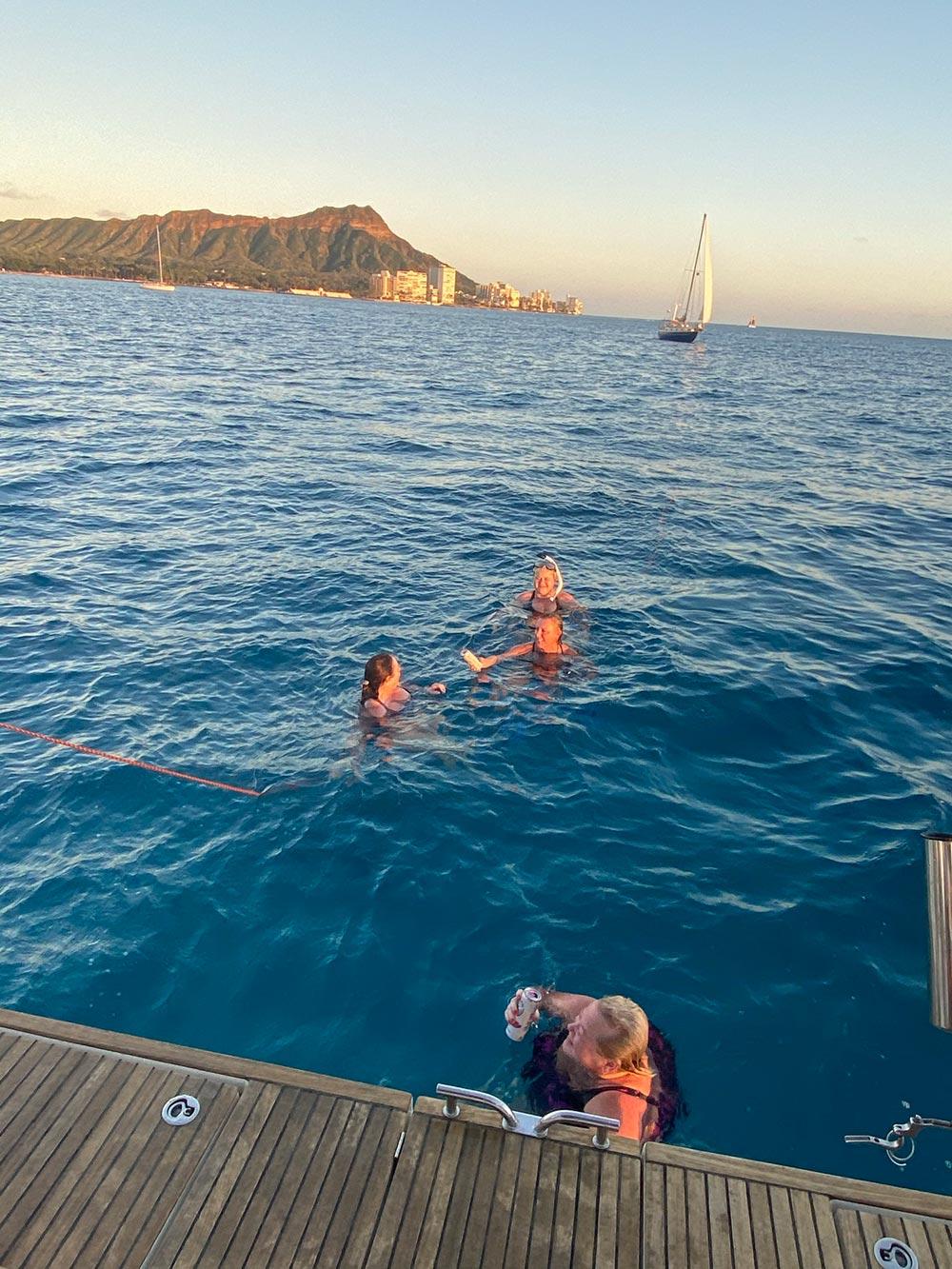 Snorkel fun in Honolulu