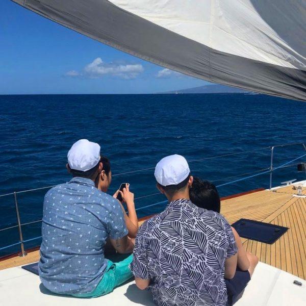 crewed sailboat charters