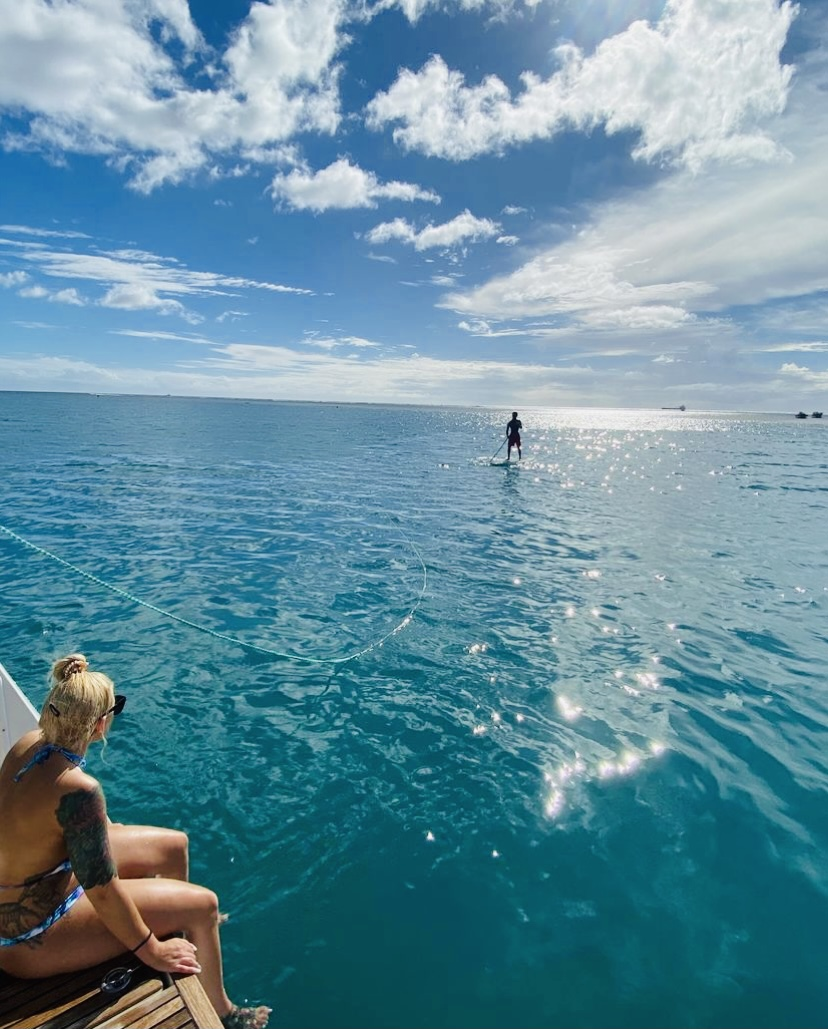 standup paddle in hawaii
