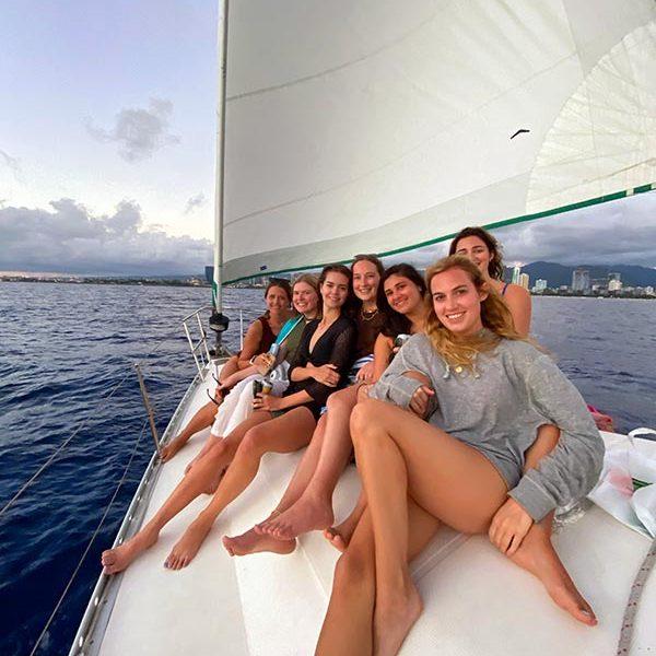 private sailboat cruise