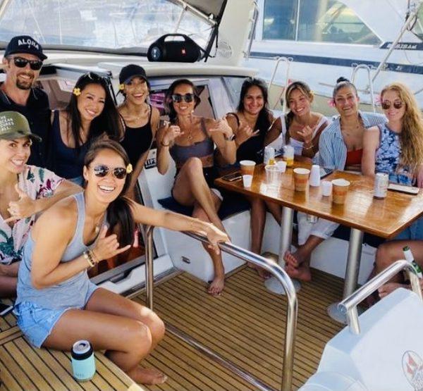 group sailing cruise in honolulu